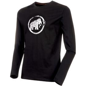 Mammut Logo Camiseta de manga larga Hombre, black